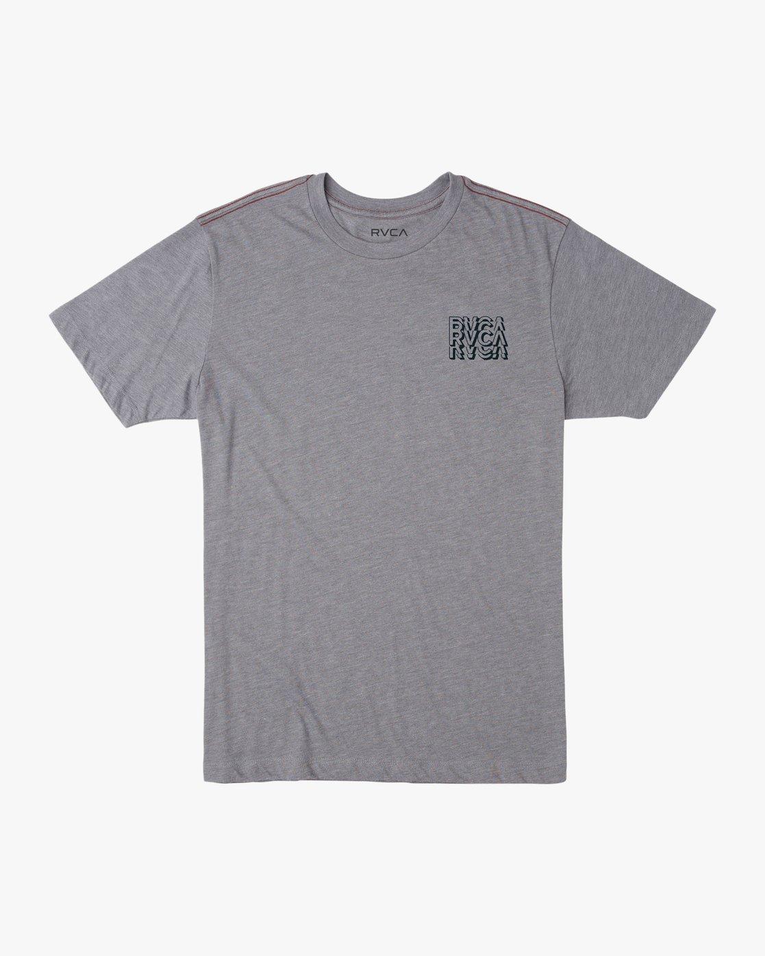 1 Boy's Ripper T-Shirt Grey B409TRRI RVCA