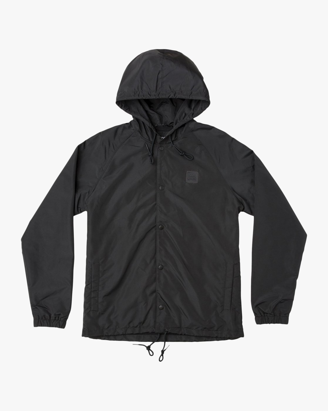 0 Boy's VA Hooded Coaches Jacket Black B701NRVA RVCA