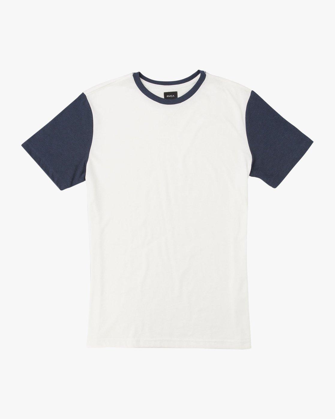 0 Boy's Pick Up II Knit Shirt White B902QRPU RVCA
