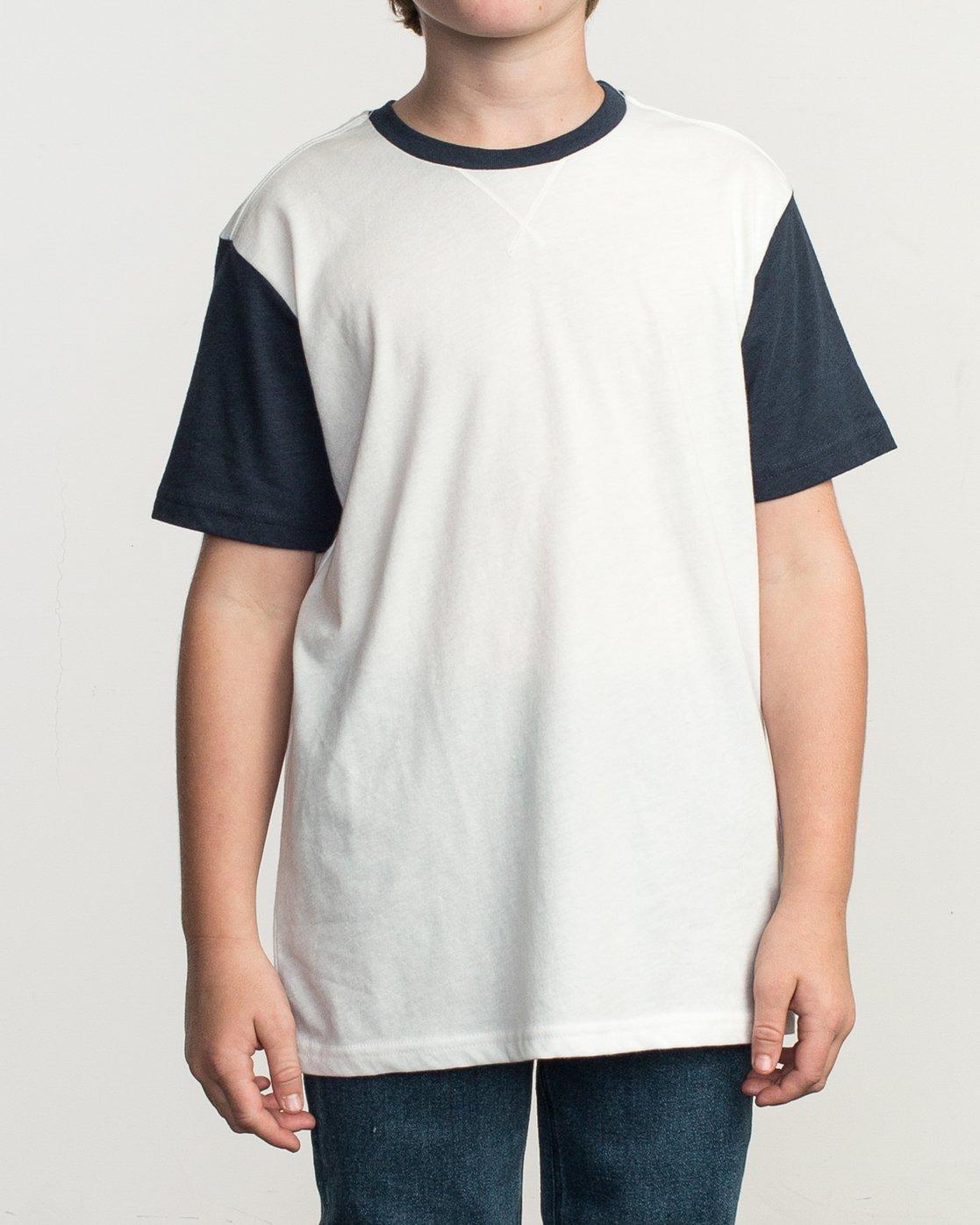 1 Boy's Pick Up II Knit Shirt White B902QRPU RVCA