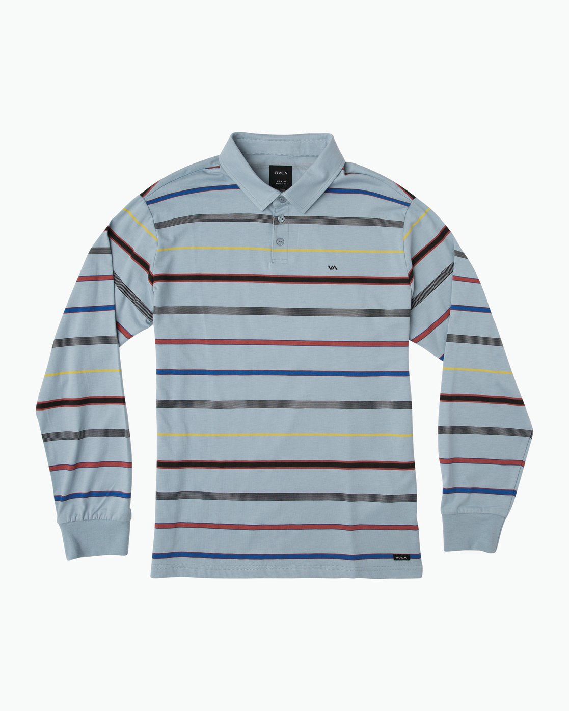 0 Boy's Sure Thing Striped Polo Blue B952SRSP RVCA