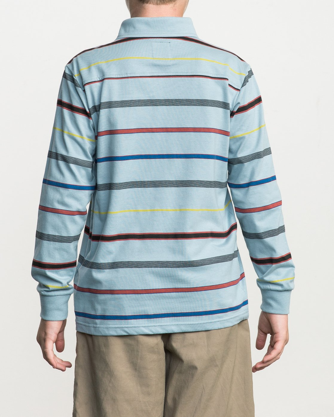 3 Boy's Sure Thing Striped Polo Blue B952SRSP RVCA