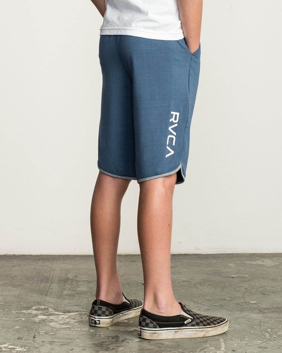 6 Boy's VA Sport Short II Blue BL201SPO RVCA
