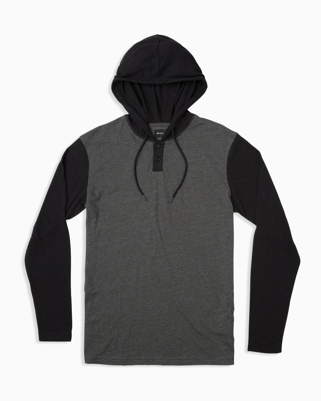 0 Boy's Pick Up Knit Hoodie Grey BL904PUH RVCA