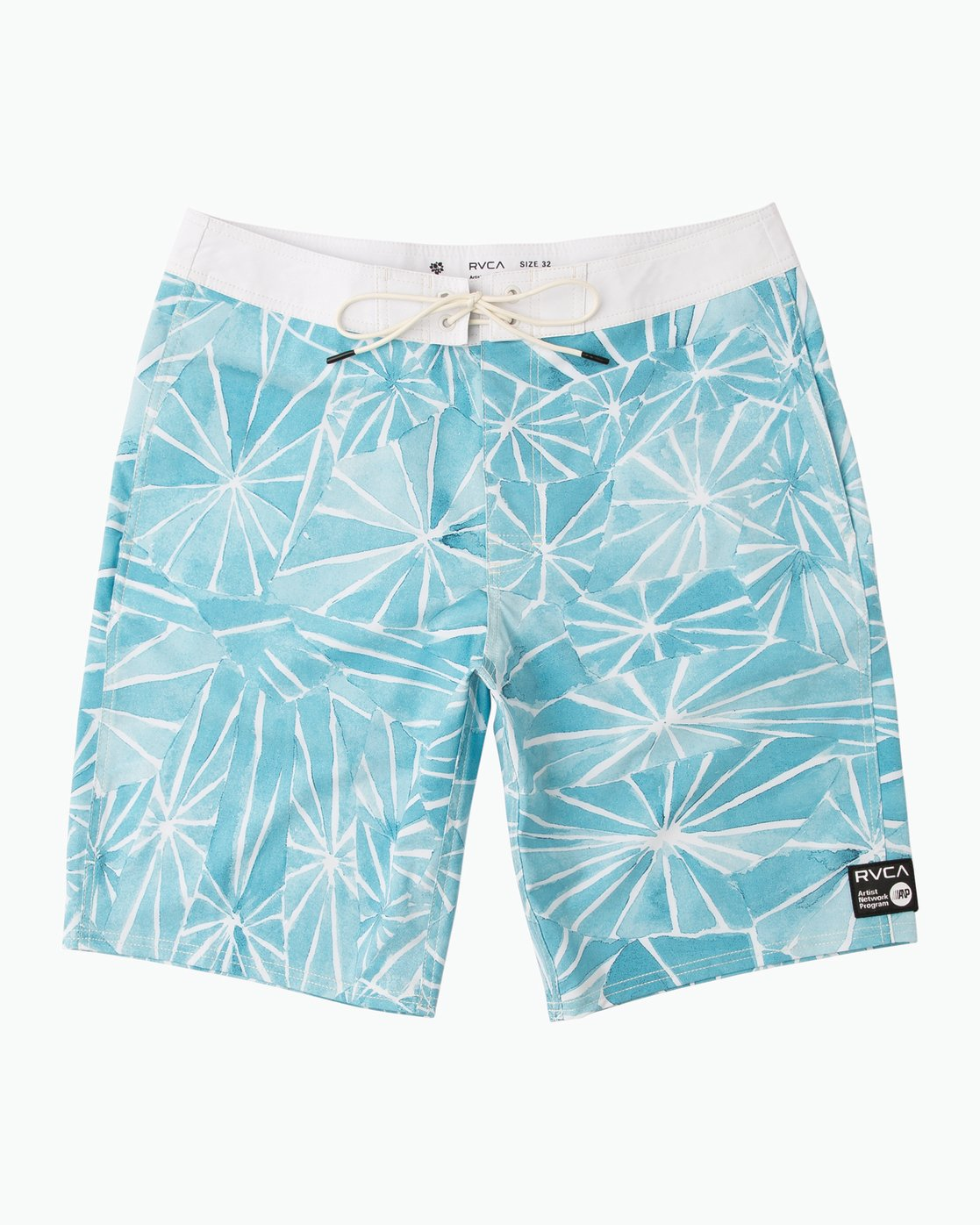 "0 Blade Printed 20"" Boardshort Blue M105QRBL RVCA"