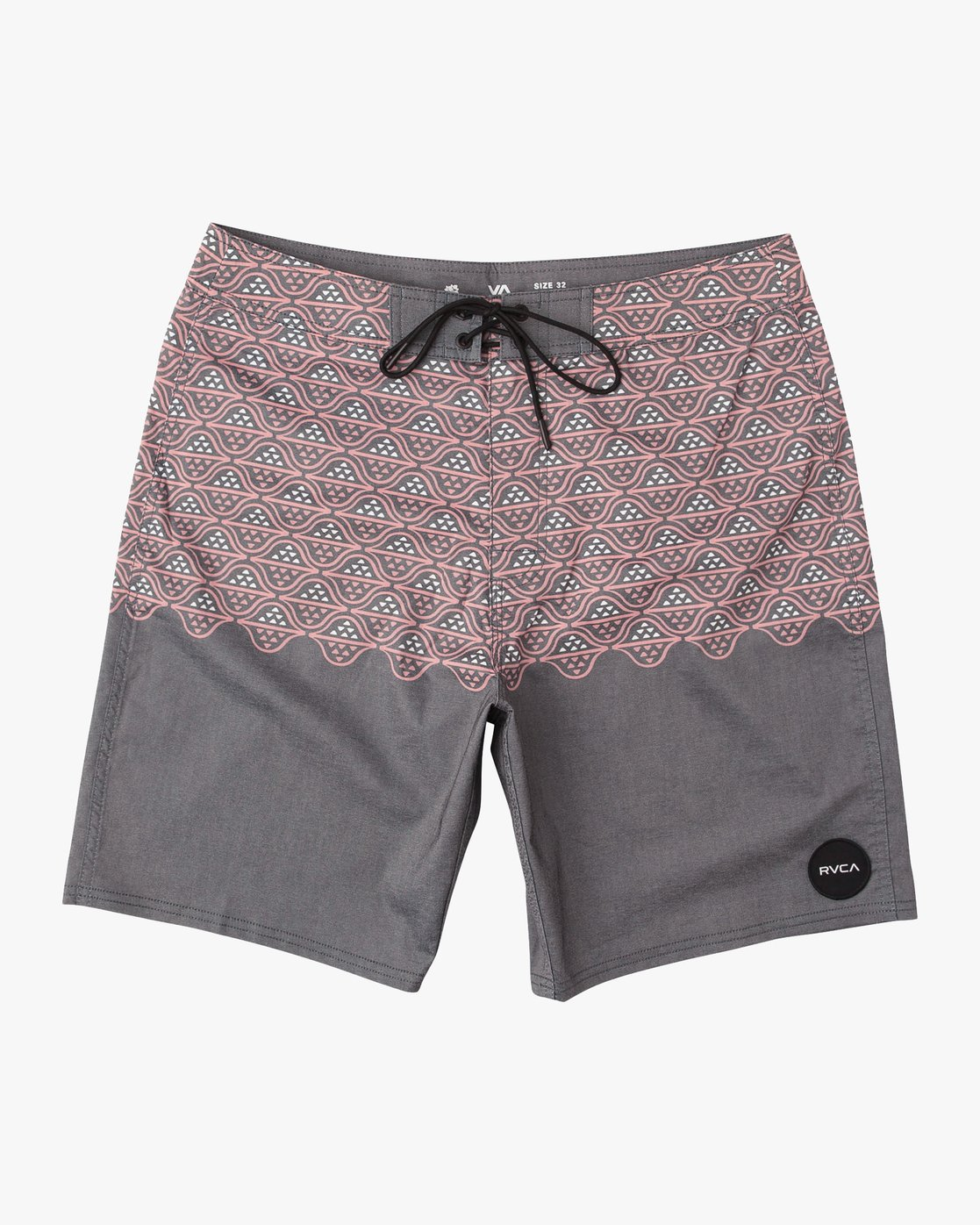 "0 Dutch 19"" Boardshort Black M107QRDU RVCA"