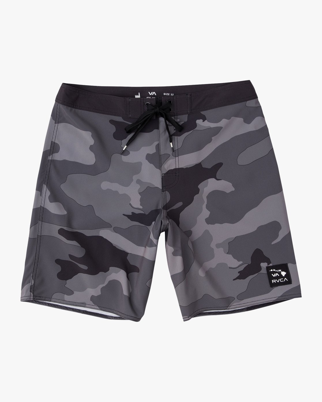 "0 Islands VA 19"" Boardshort Black M124NRIV RVCA"