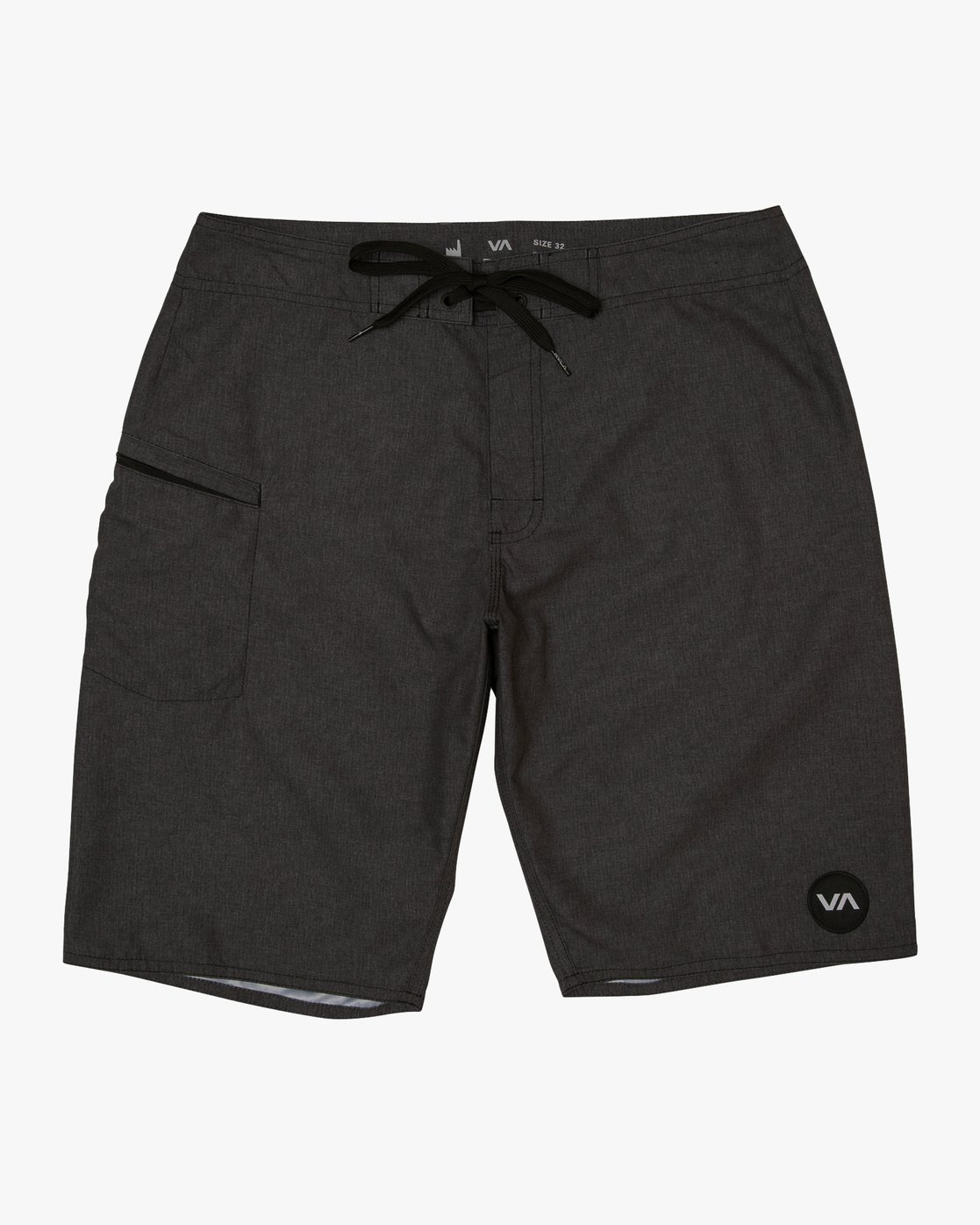 "0 Upper 20"" Boardshort Black M166TRUP RVCA"