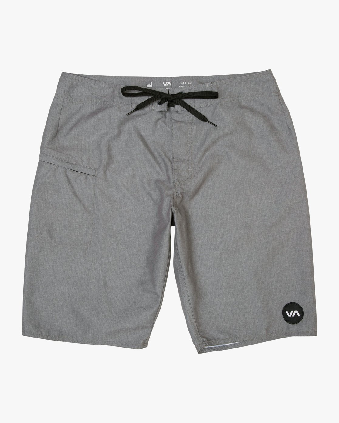"0 Upper 20"" Boardshort Grey M166TRUP RVCA"