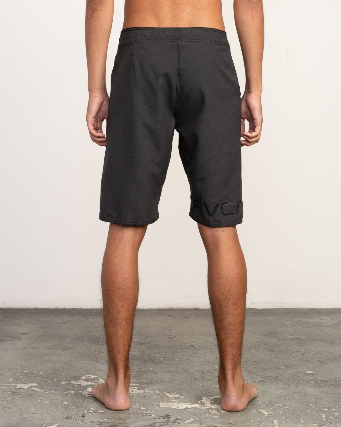"4 Upper 20"" Boardshort Black M166TRUP RVCA"
