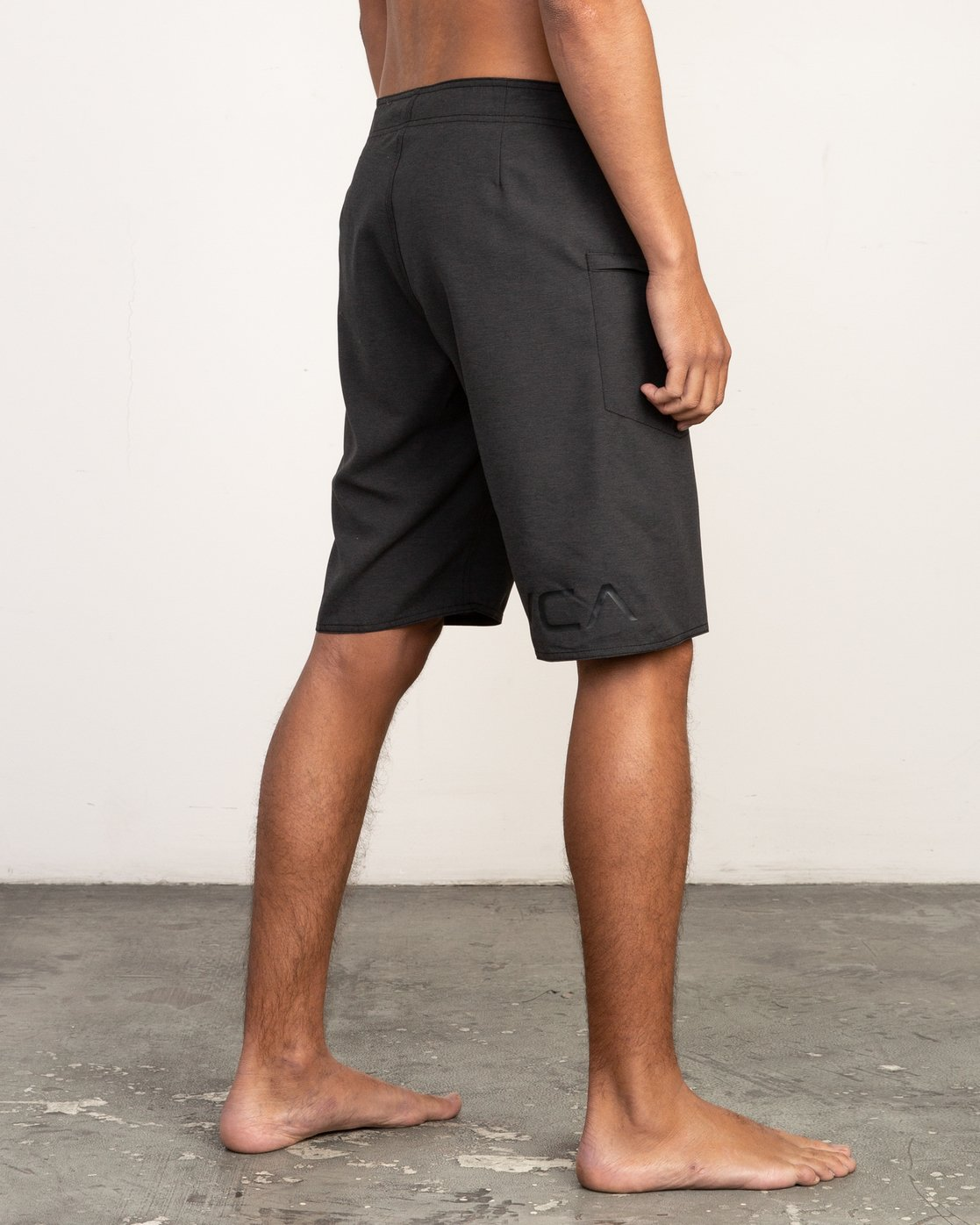 "5 Upper 20"" Boardshort Black M166TRUP RVCA"