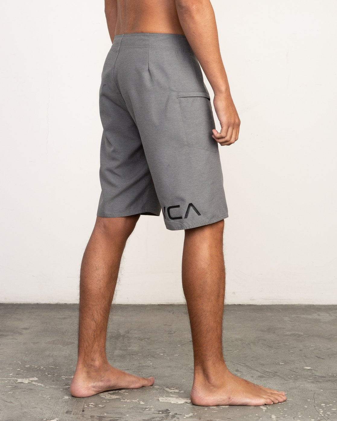 "5 Upper 20"" Boardshort Grey M166TRUP RVCA"