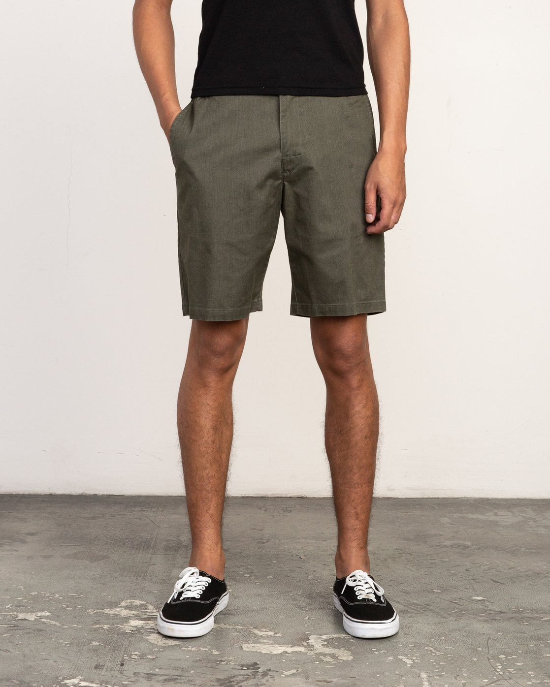 1 All Time Session Short Green M201TRSE RVCA
