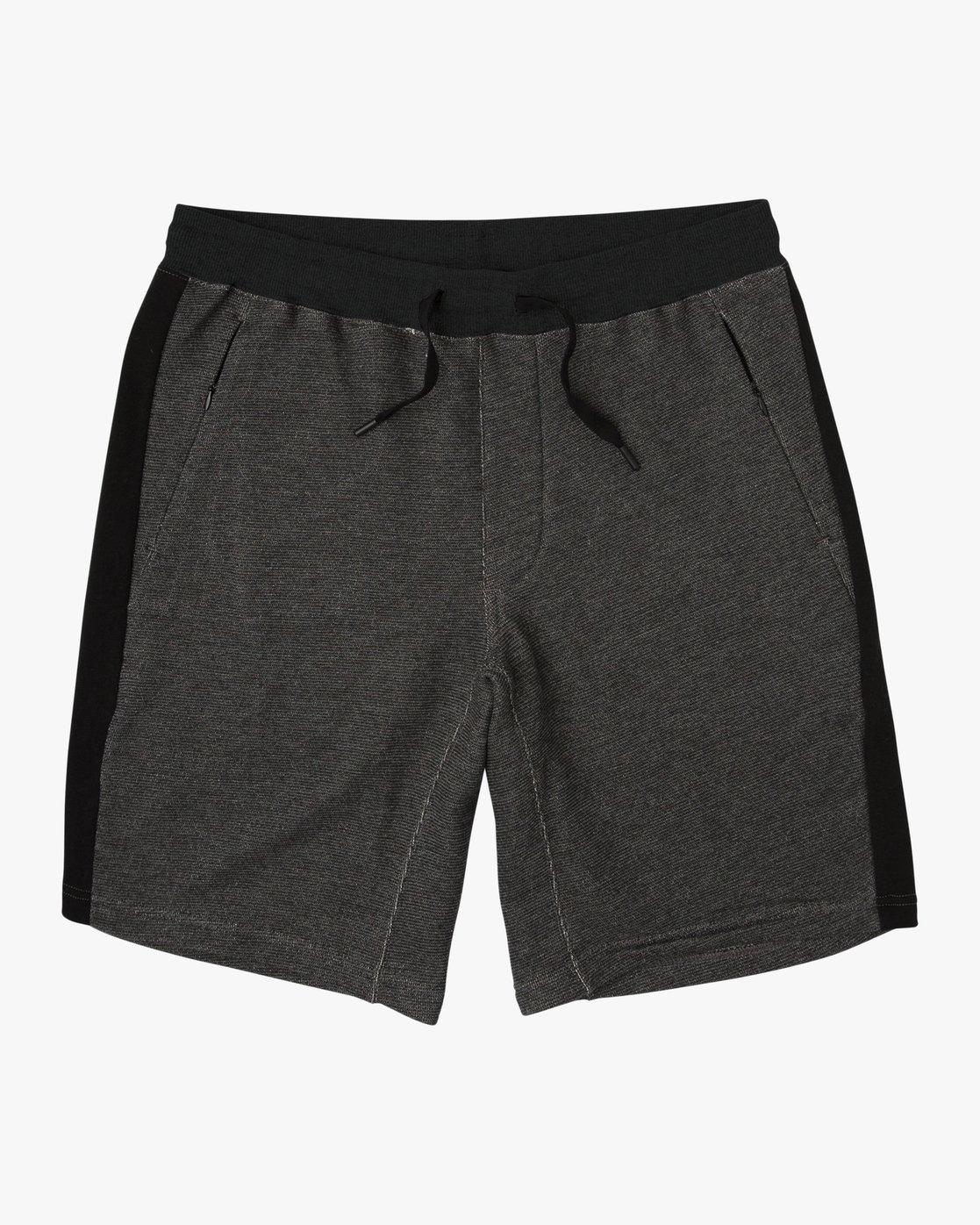 0 Premium Sweat Short Black M202SRPR RVCA