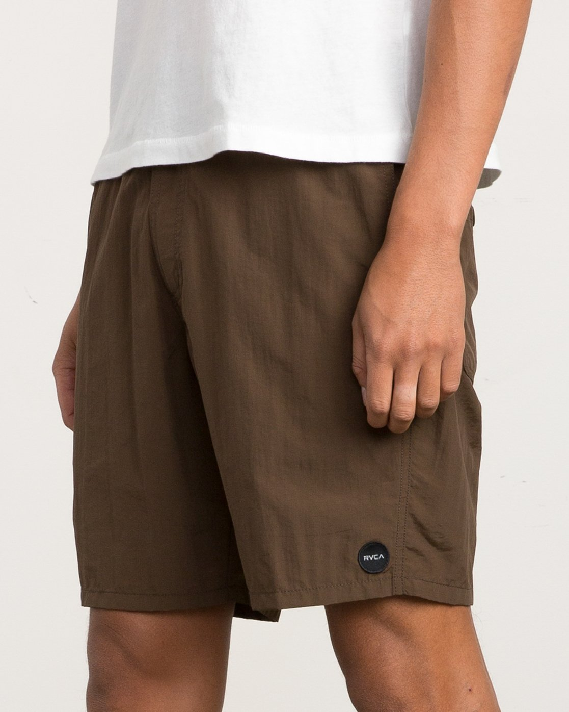 7 Nomatic All Time Hybrid Short Brown M203QRNO RVCA