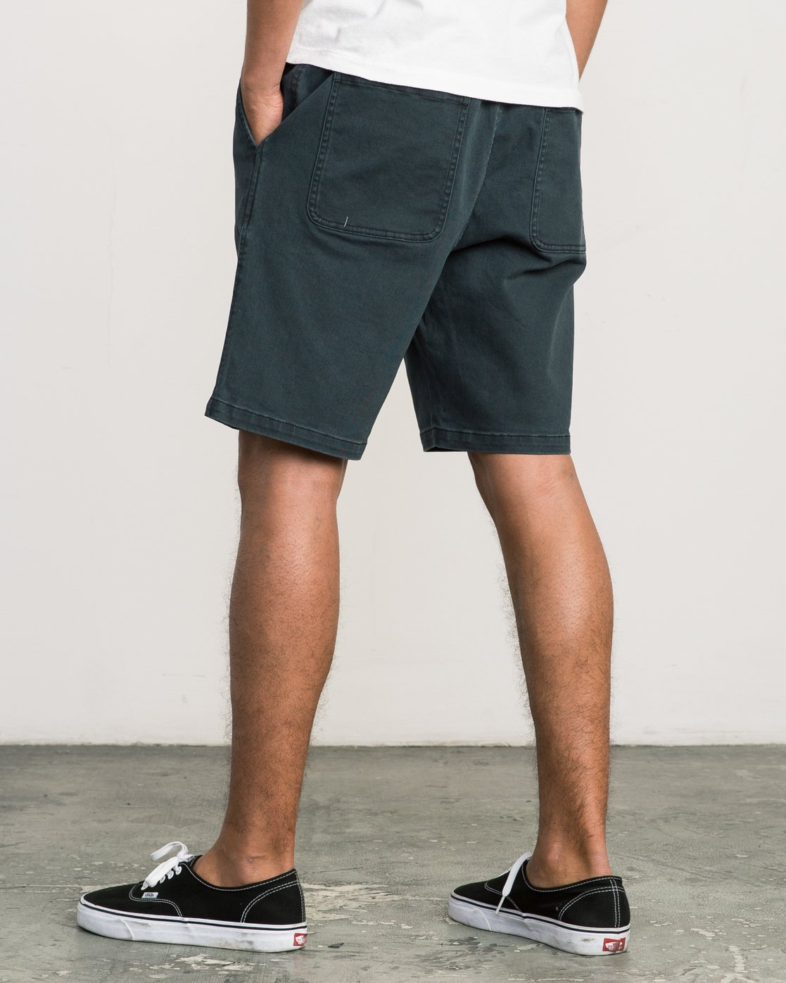 3 AR Everyday Elastic Short Black M203SREV RVCA