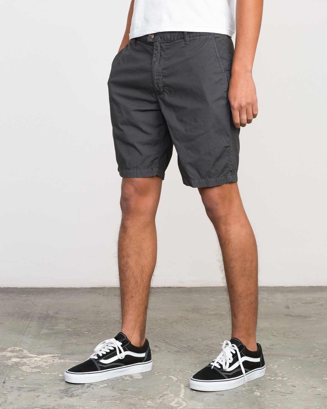2 Nomad All Time Short Grey M207PRNO RVCA