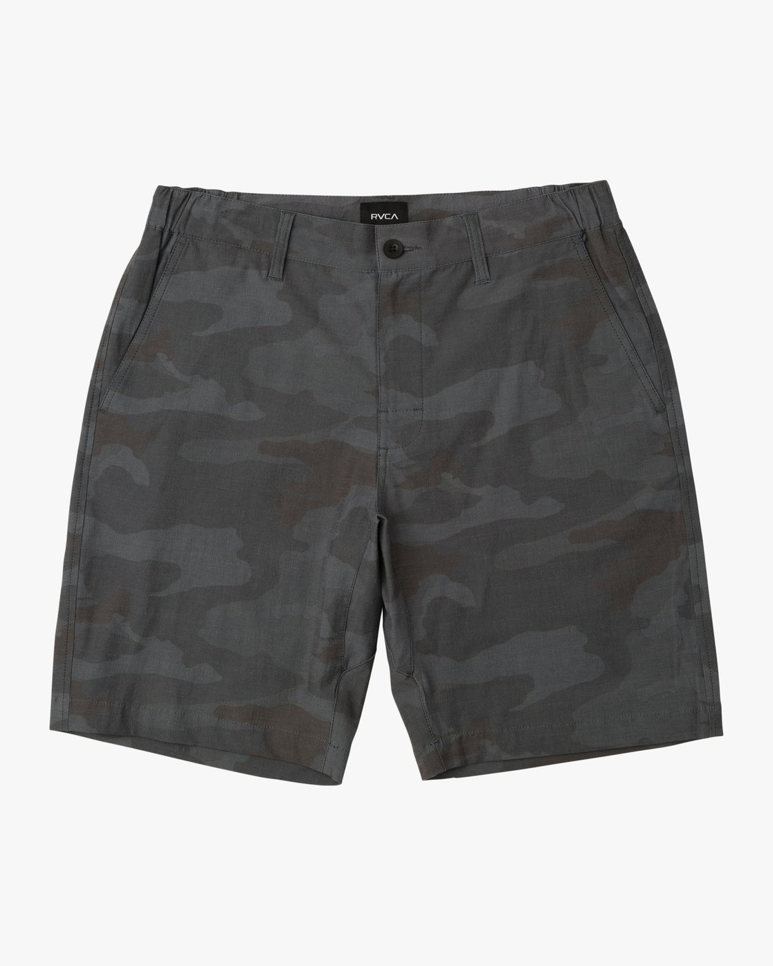 0 All Time Coastal Print Hybrid Short Black M207TRCP RVCA