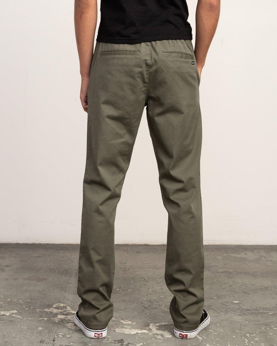 3 Weekend Elastic Pant Green M302TRWE RVCA
