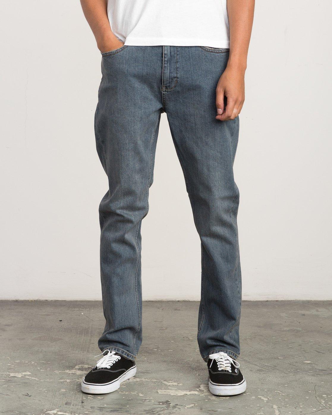 0 Daggers Slim-Straight Jeans Multicolor M303QRDA RVCA