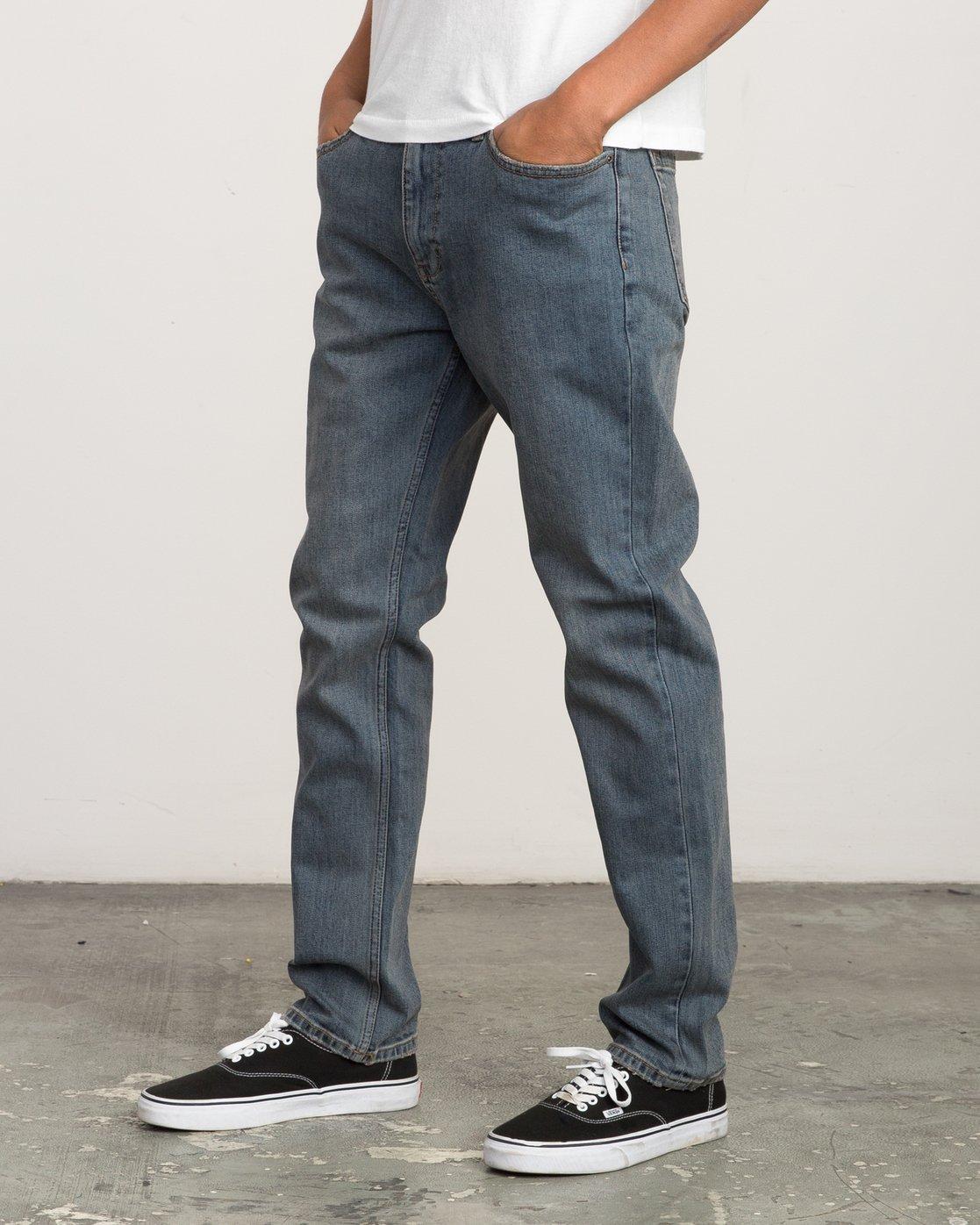 1 Daggers Slim-Straight Jeans Multicolor M303QRDA RVCA