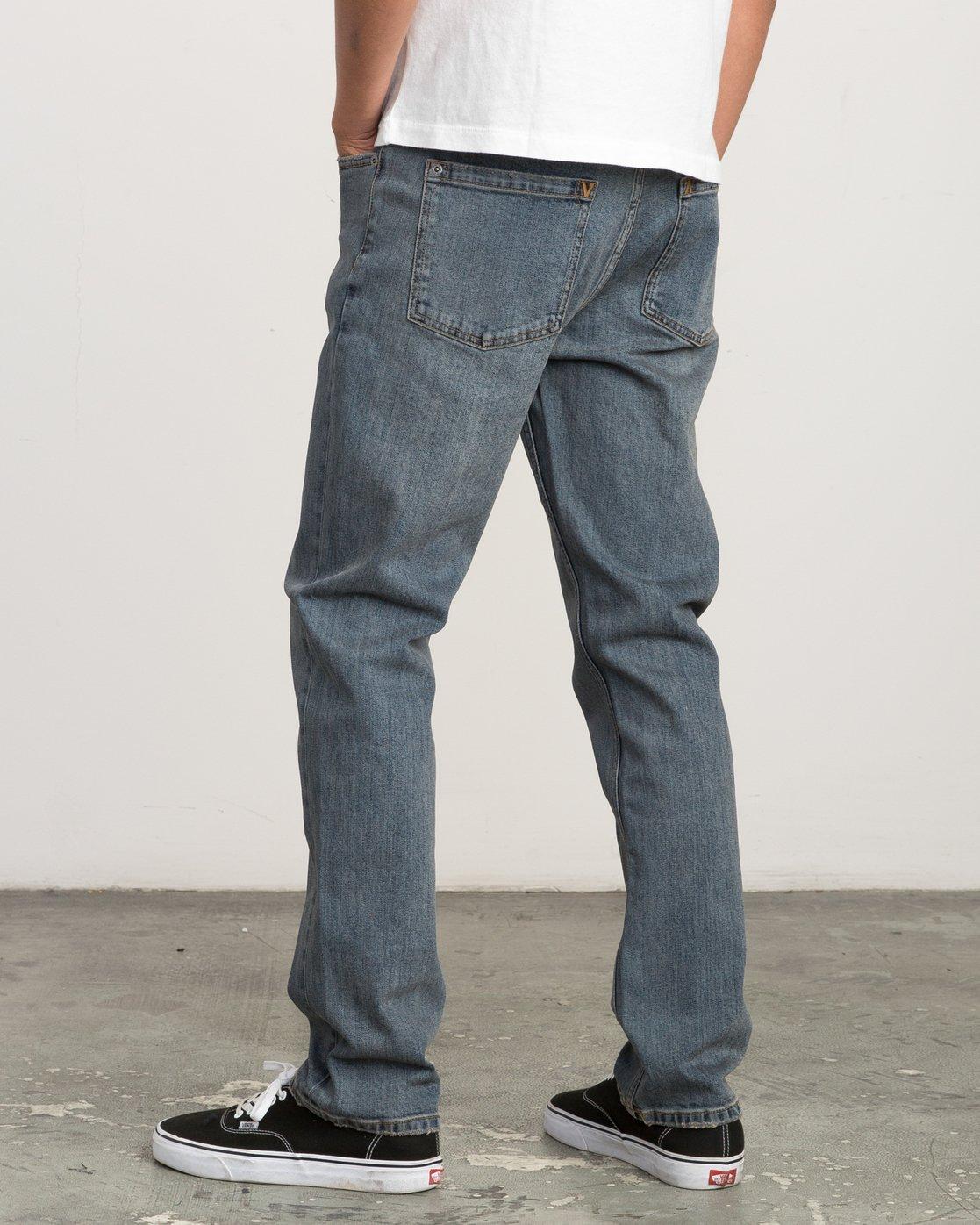 2 Daggers Slim-Straight Jeans Multicolor M303QRDA RVCA