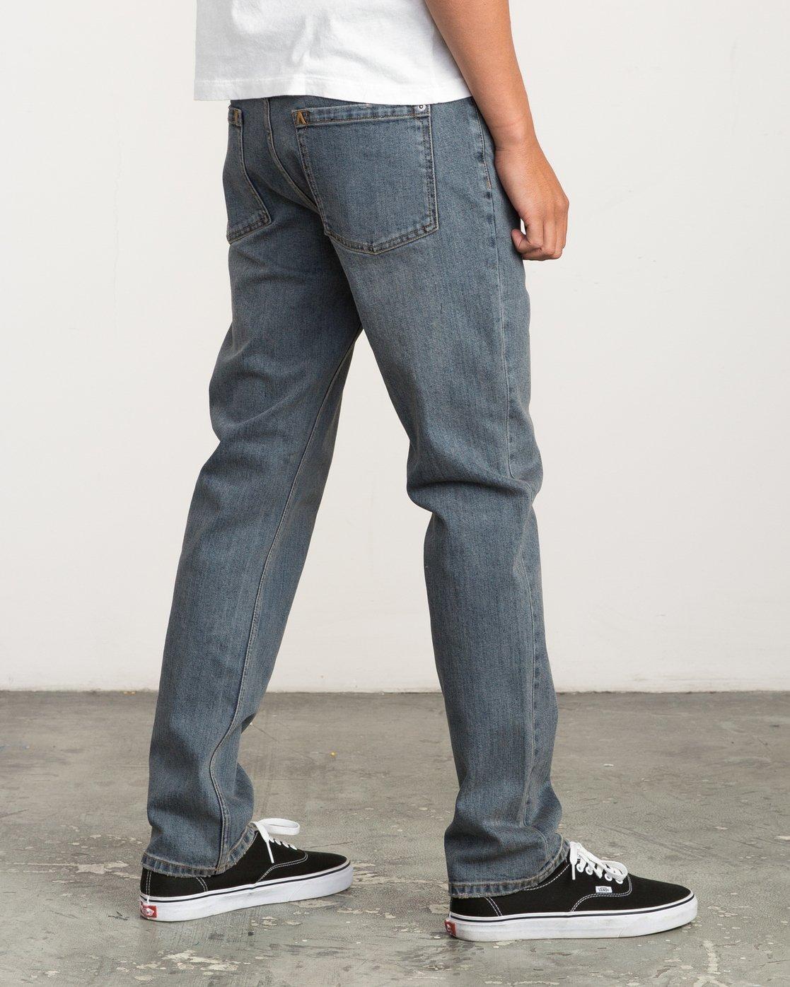 4 Daggers Slim-Straight Jeans Multicolor M303QRDA RVCA