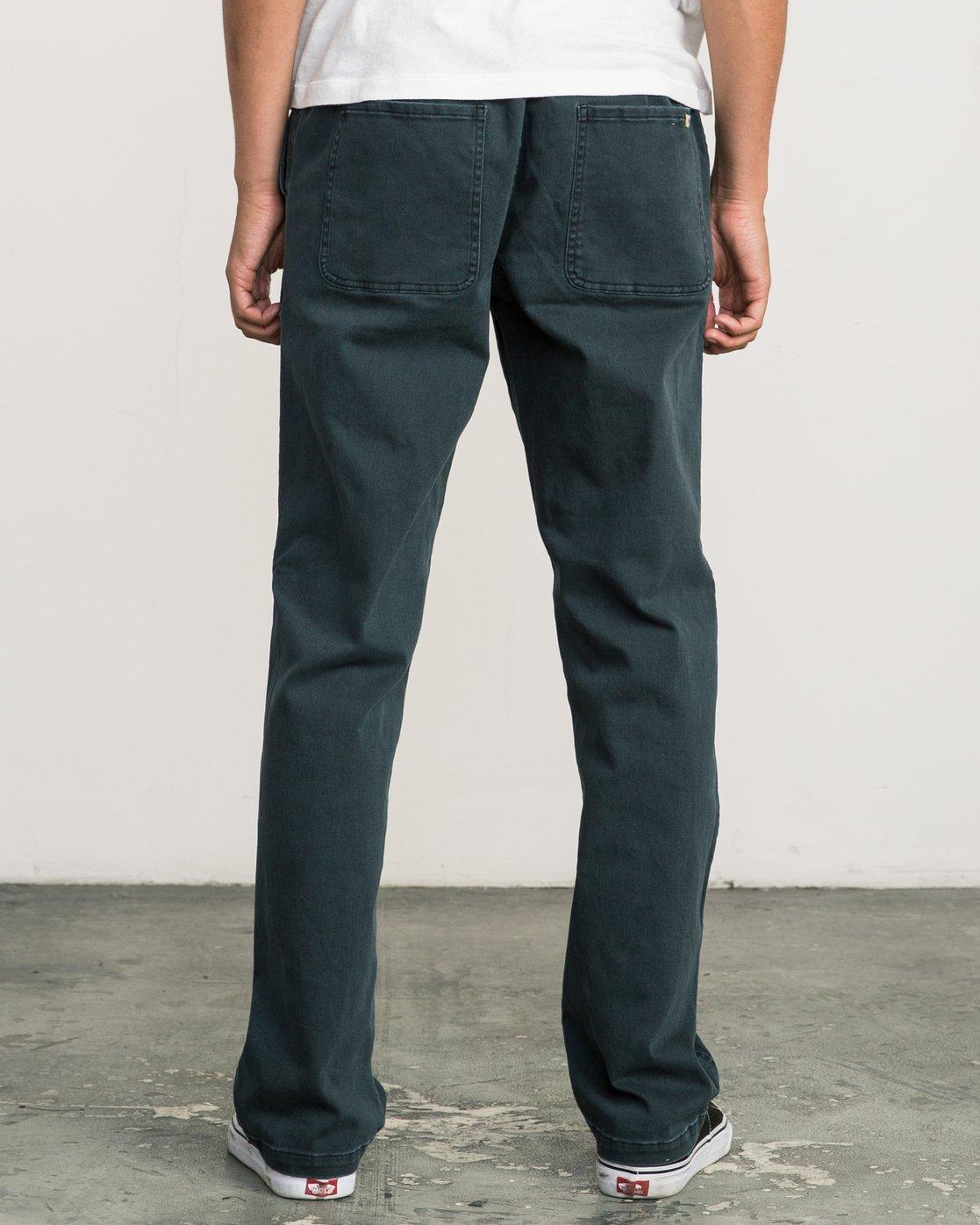 3 AR Everyday Elastic Pant Black M304SREV RVCA