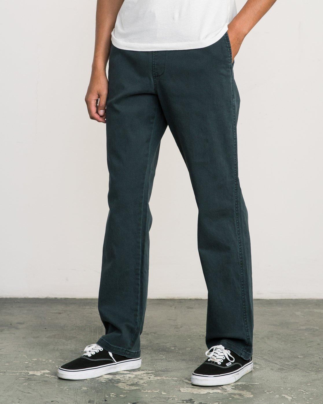 1 AR Everyday Elastic Pant Black M304SREV RVCA