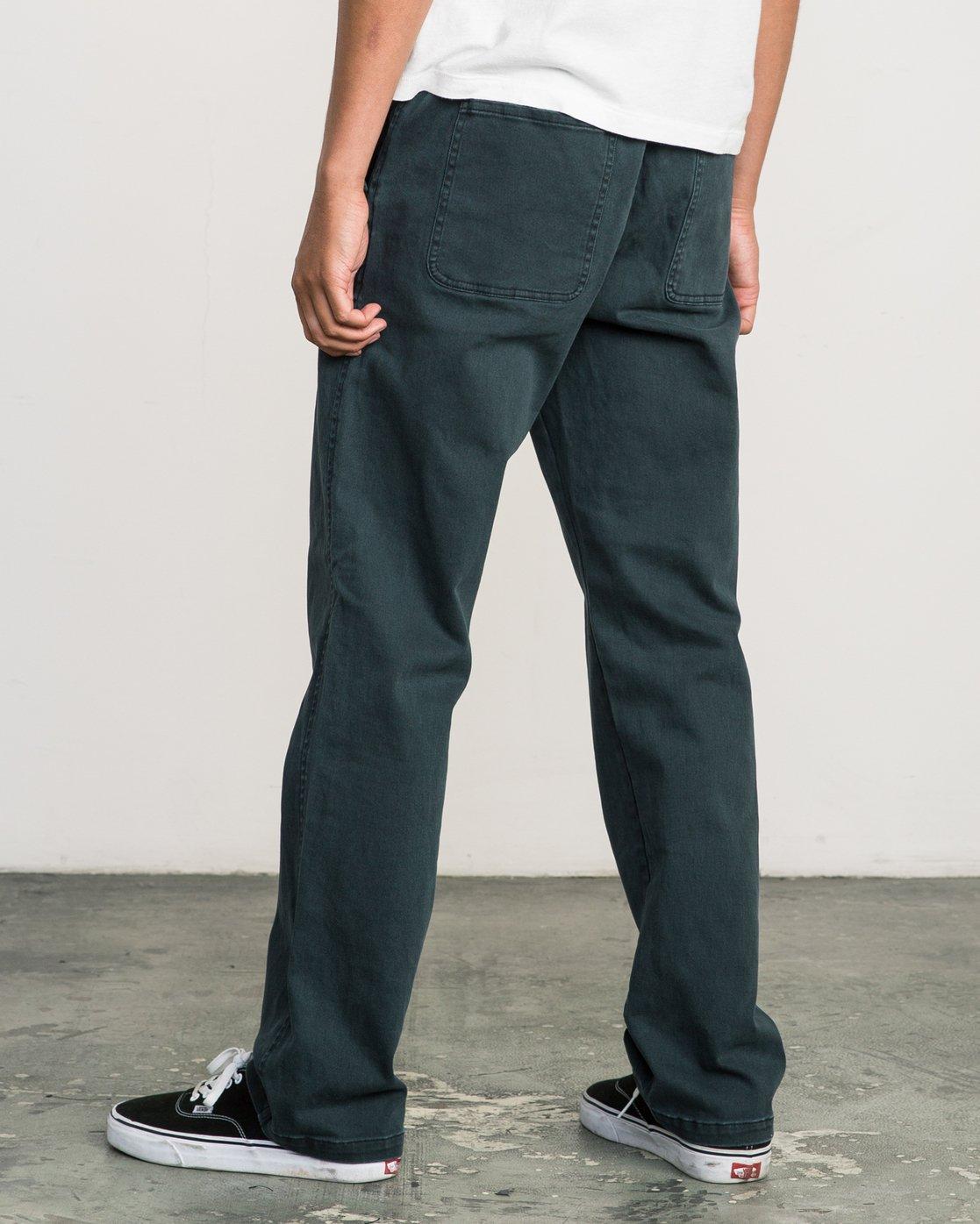 2 AR Everyday Elastic Pant Black M304SREV RVCA