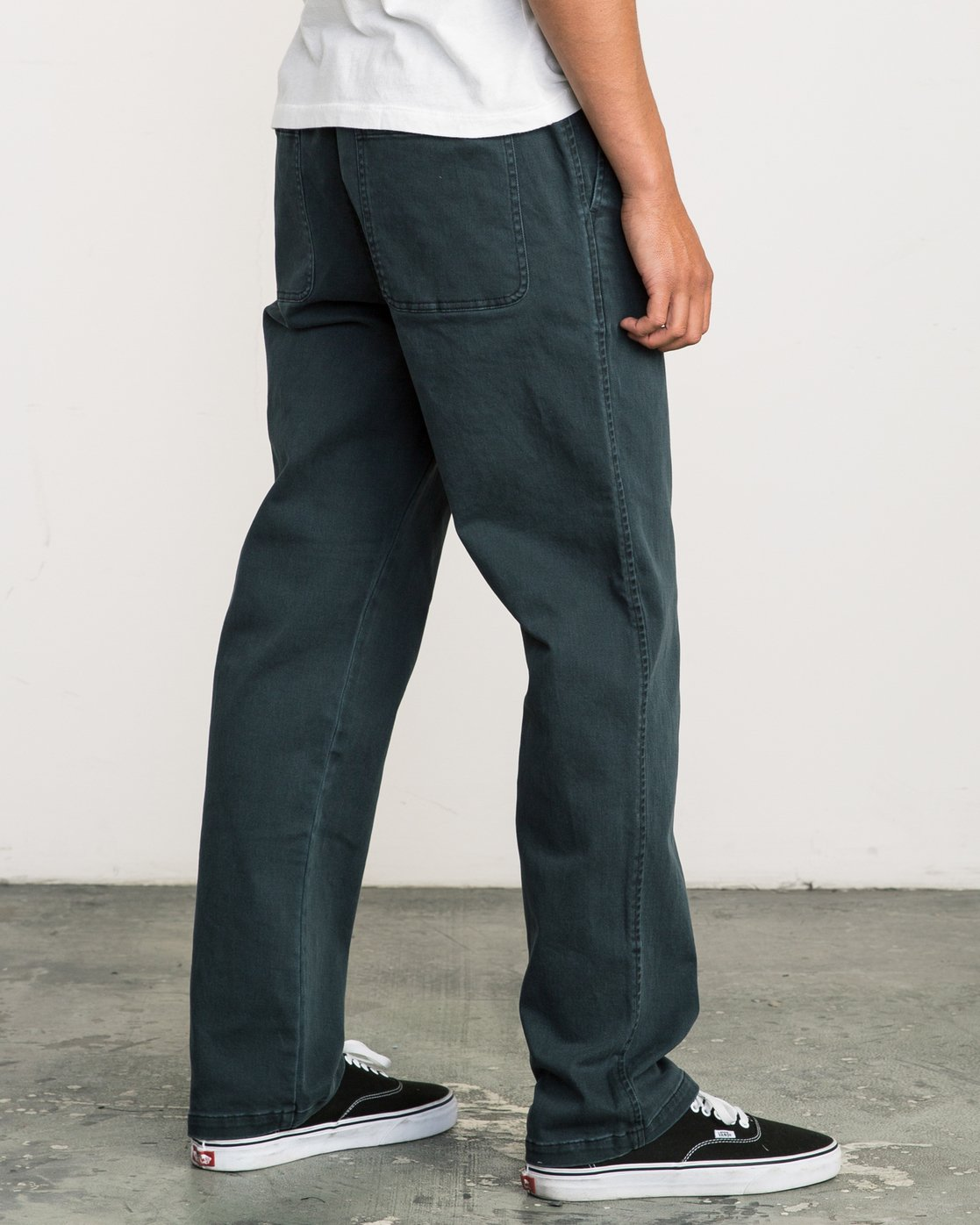 4 AR Everyday Elastic Pant Black M304SREV RVCA