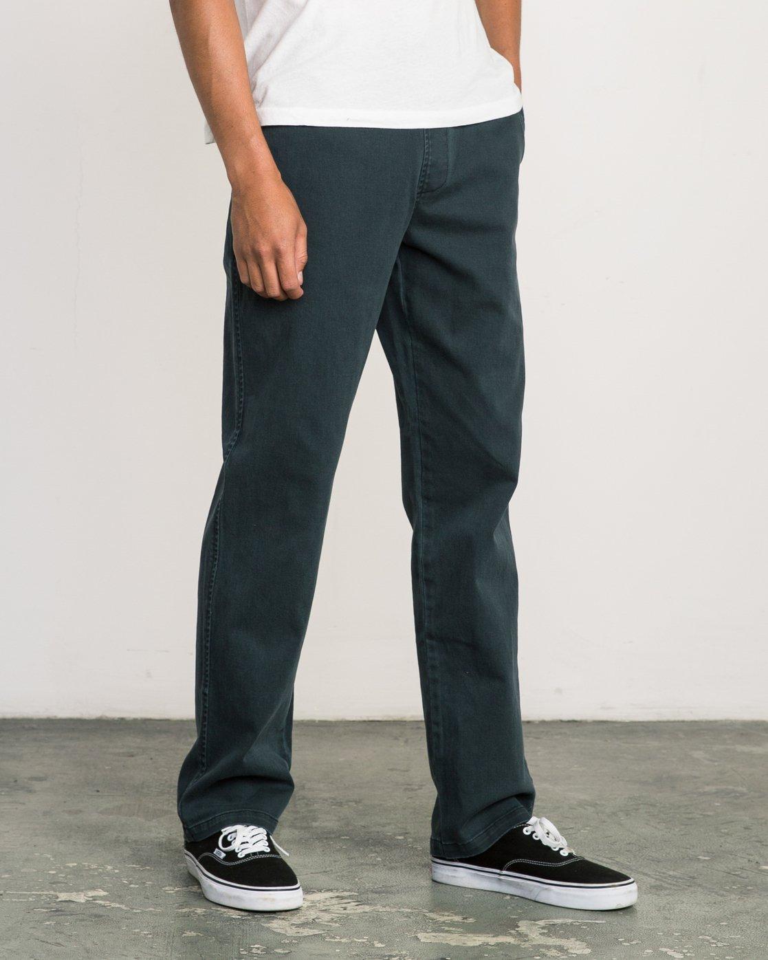 5 AR Everyday Elastic Pant Black M304SREV RVCA