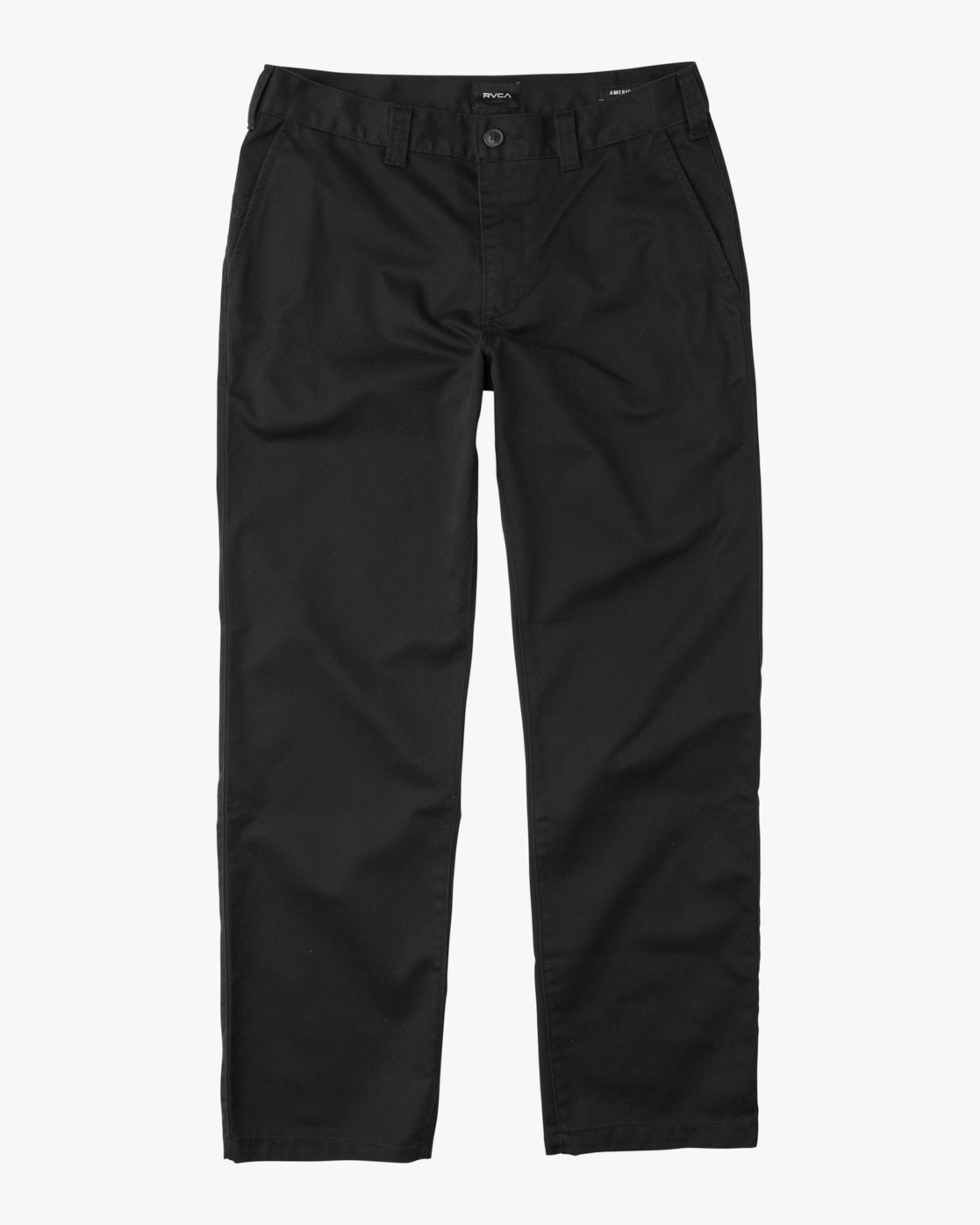6 Big RVCA Chino Pant Black M308QRBR RVCA