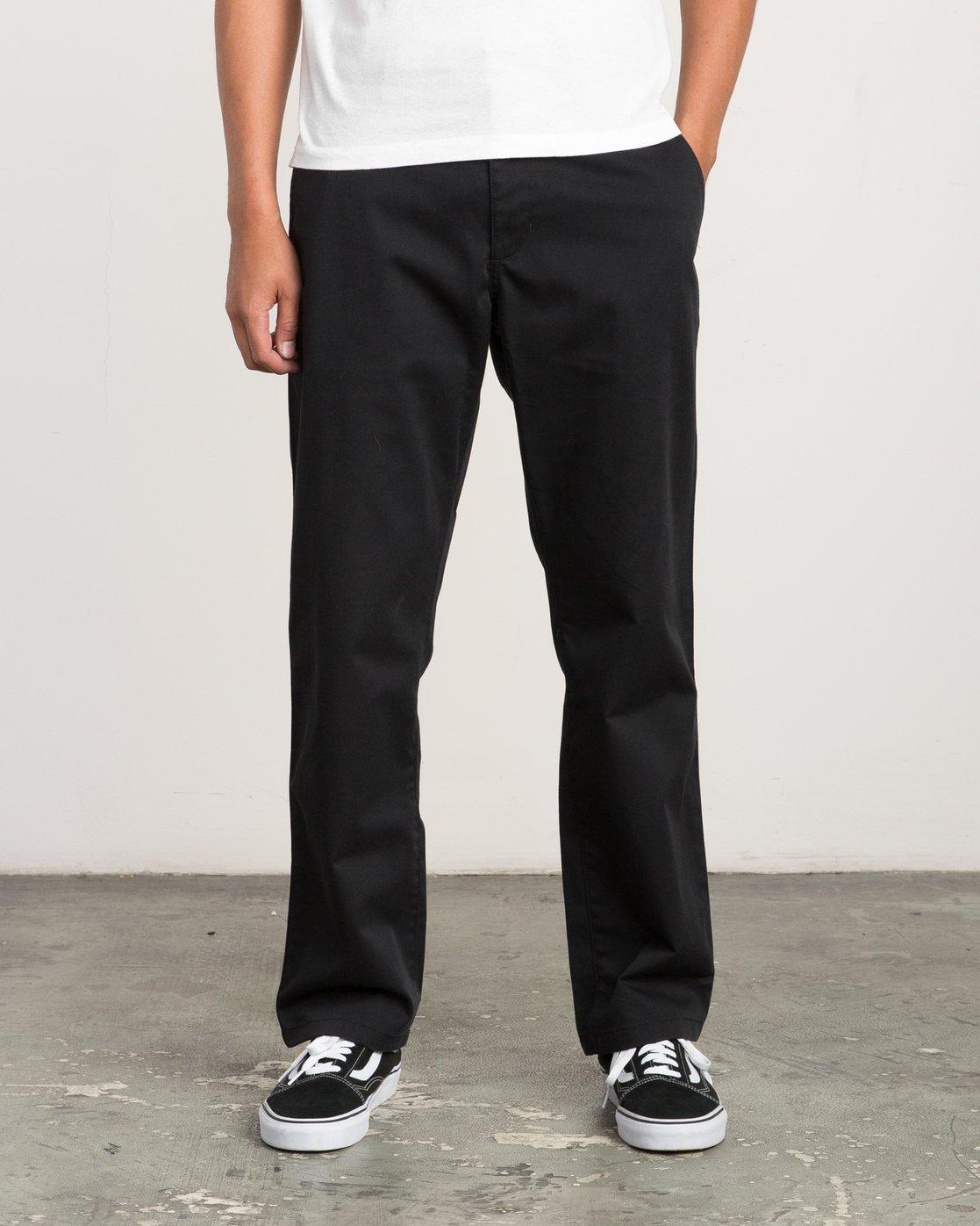 0 Big RVCA Chino Pant Black M308QRBR RVCA