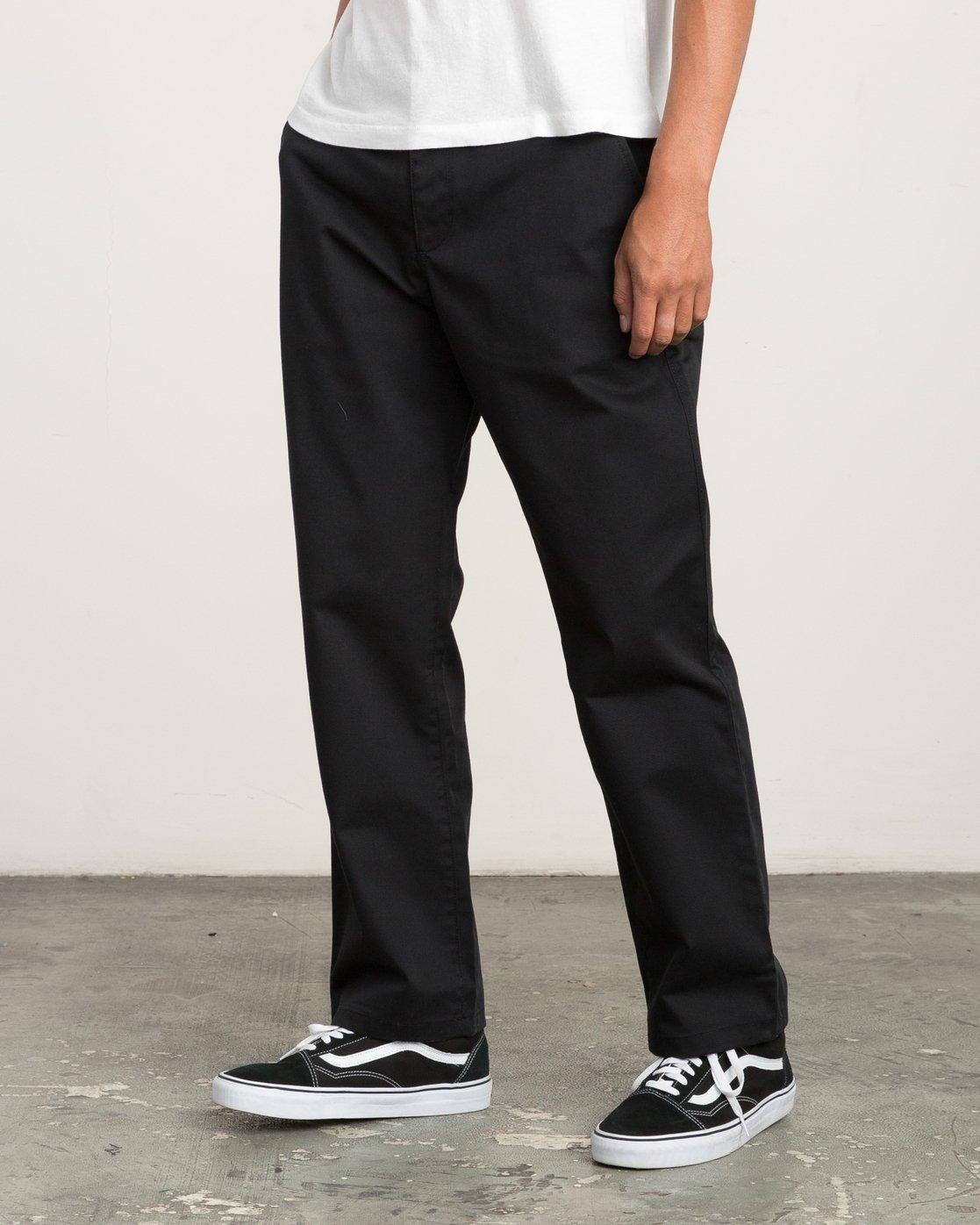1 Big RVCA Chino Pant Black M308QRBR RVCA
