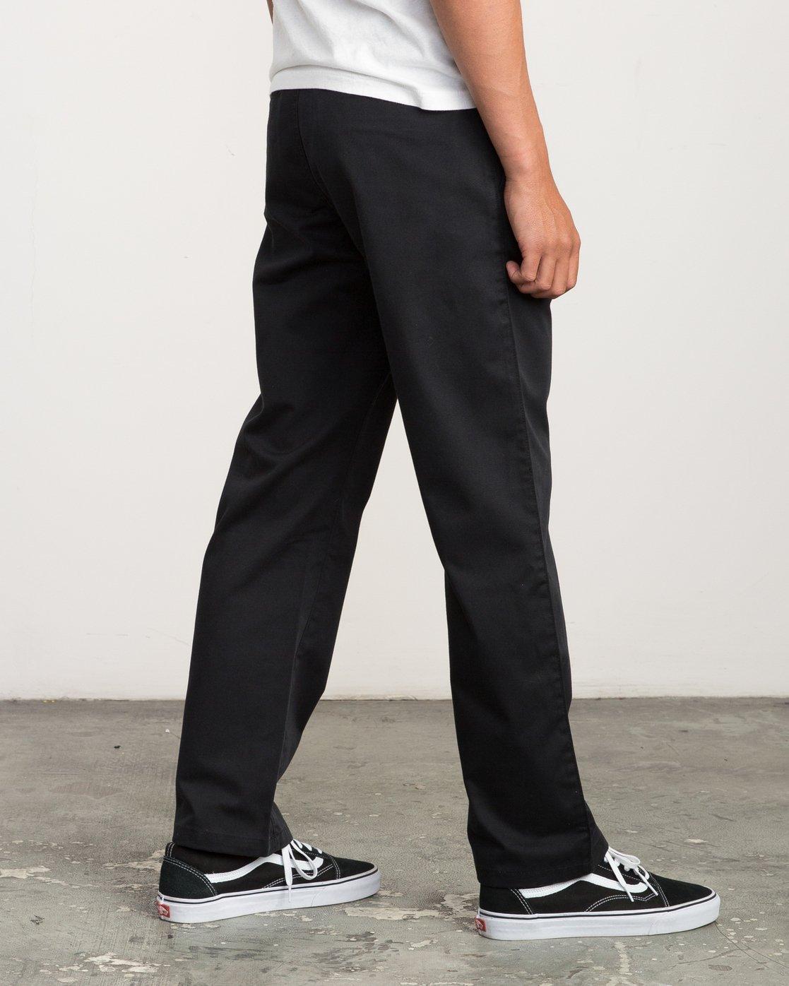 4 Big RVCA Chino Pant Black M308QRBR RVCA