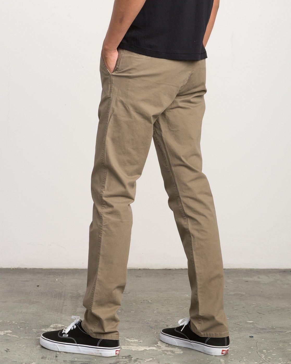 2 Daggers Slim-Straight Chino Pant Beige M309QRDC RVCA