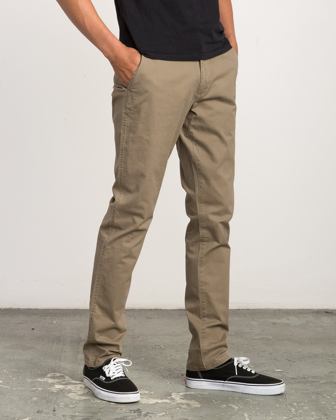 5 Daggers Slim-Straight Chino Pant Beige M309QRDC RVCA