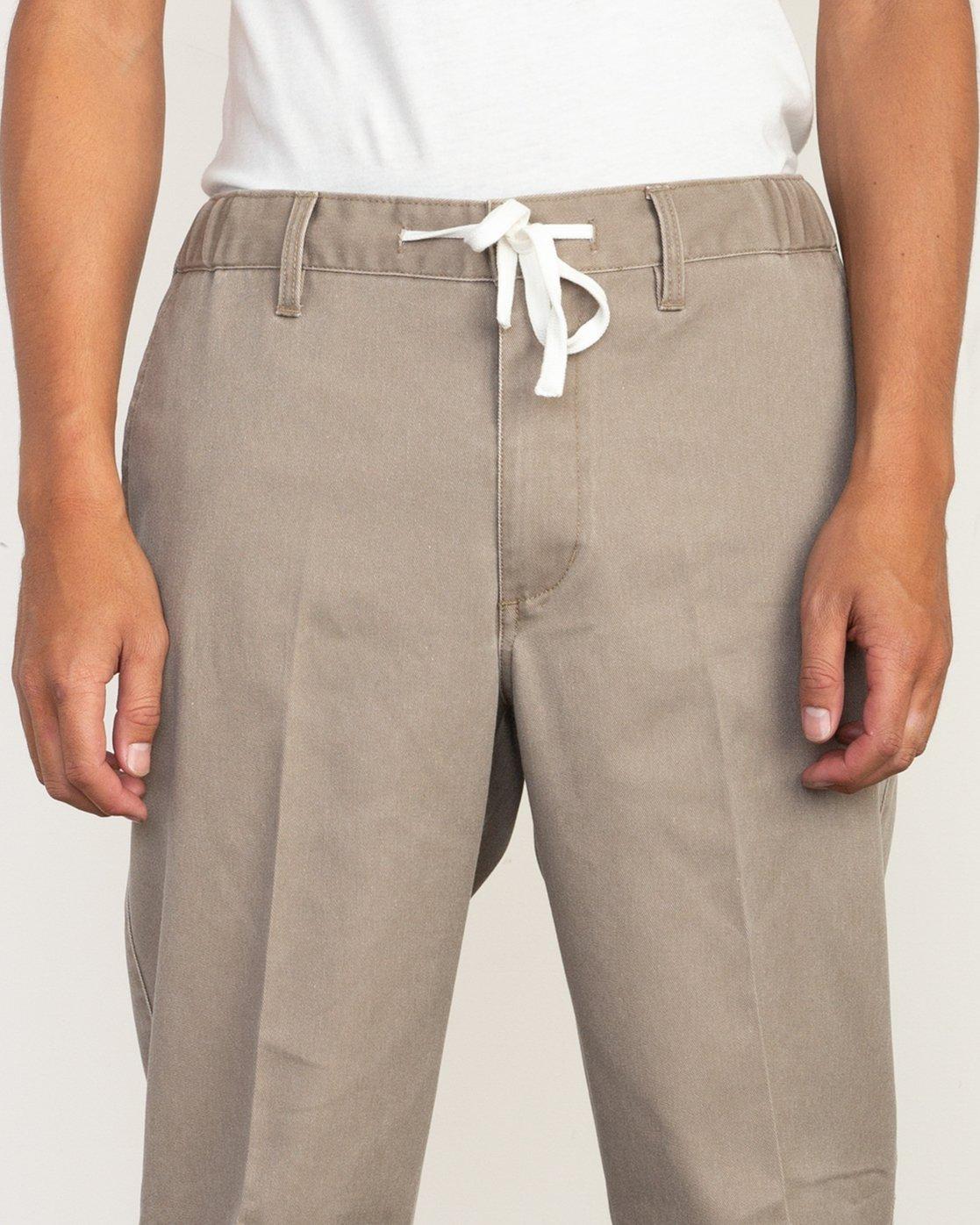 3 Big RVCA Neutral Pants Green M310QRBR RVCA