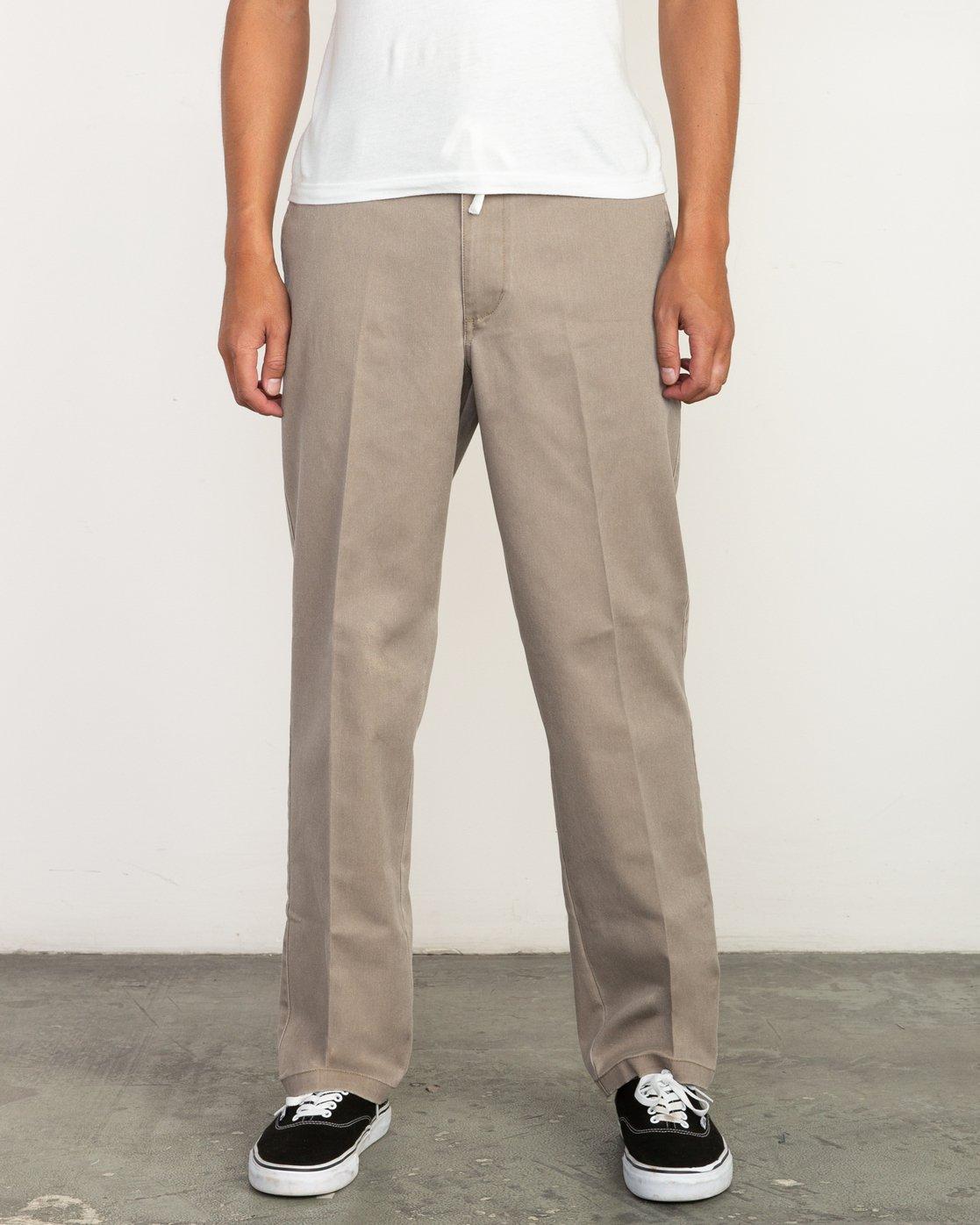 0 Big RVCA Neutral Pants Green M310QRBR RVCA