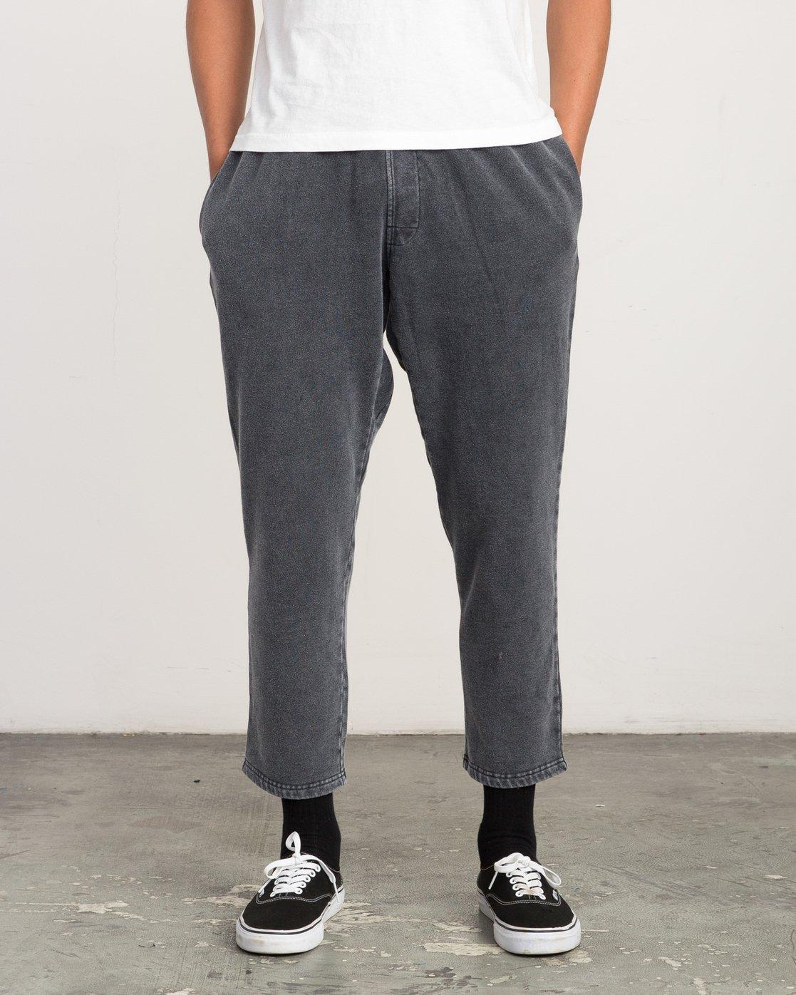 1 Matador Pigment Fleece Sweat Pants Black M312QRMA RVCA