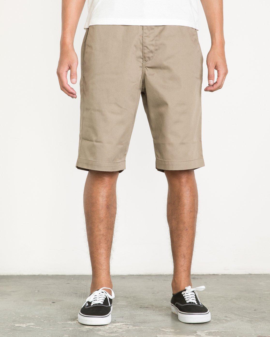 "1 Americana 22"" Shorts Green M3210AMS RVCA"