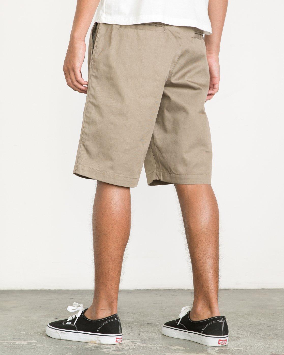 "3 Americana 22"" Shorts Green M3210AMS RVCA"