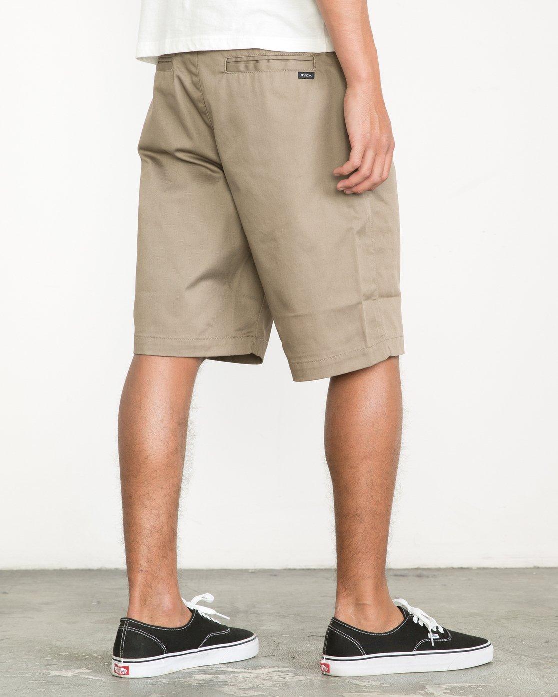 "5 Americana 22"" Shorts Green M3210AMS RVCA"