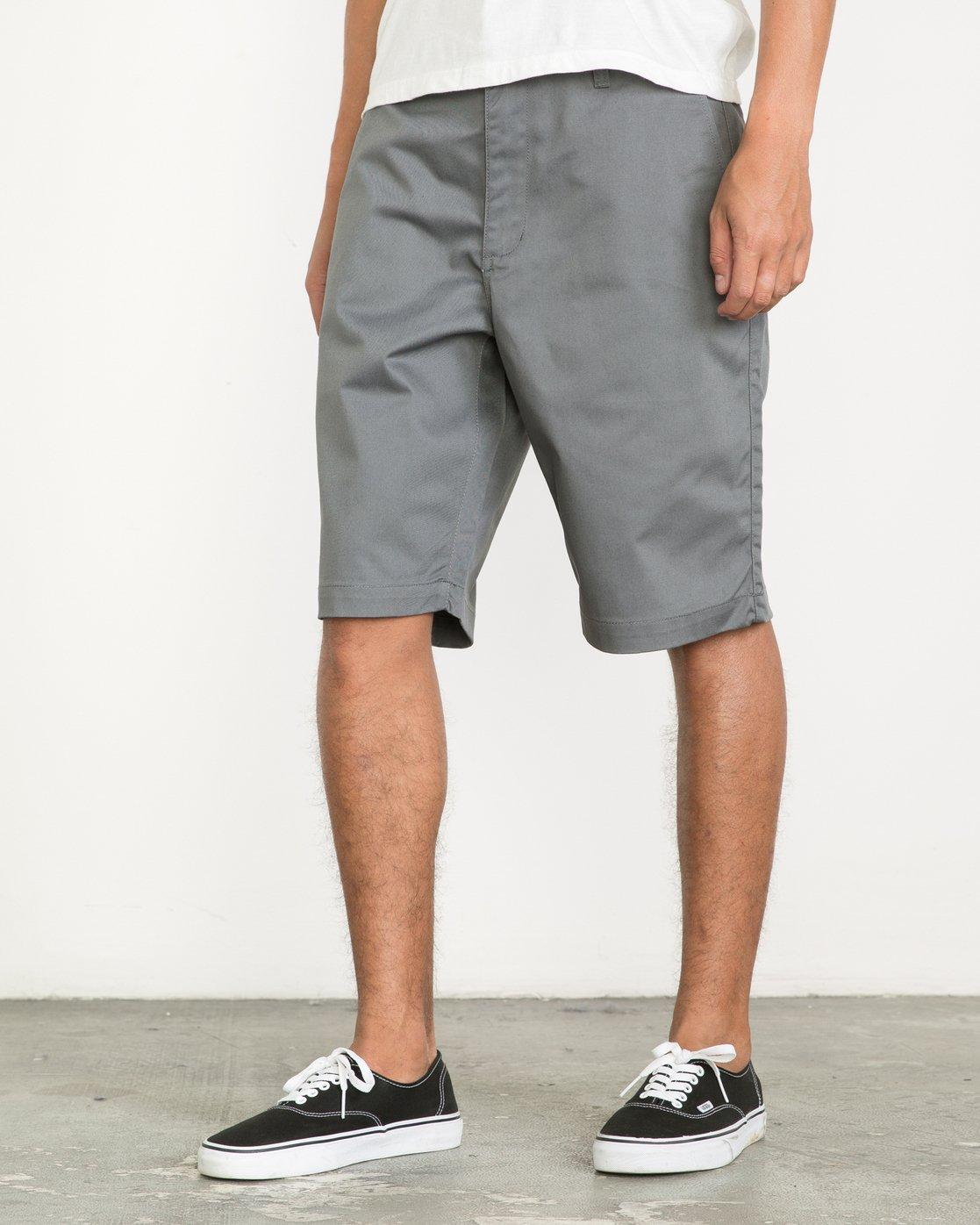 """2 Americana 22"""" Shorts Multicolor M3210AMS RVCA"""