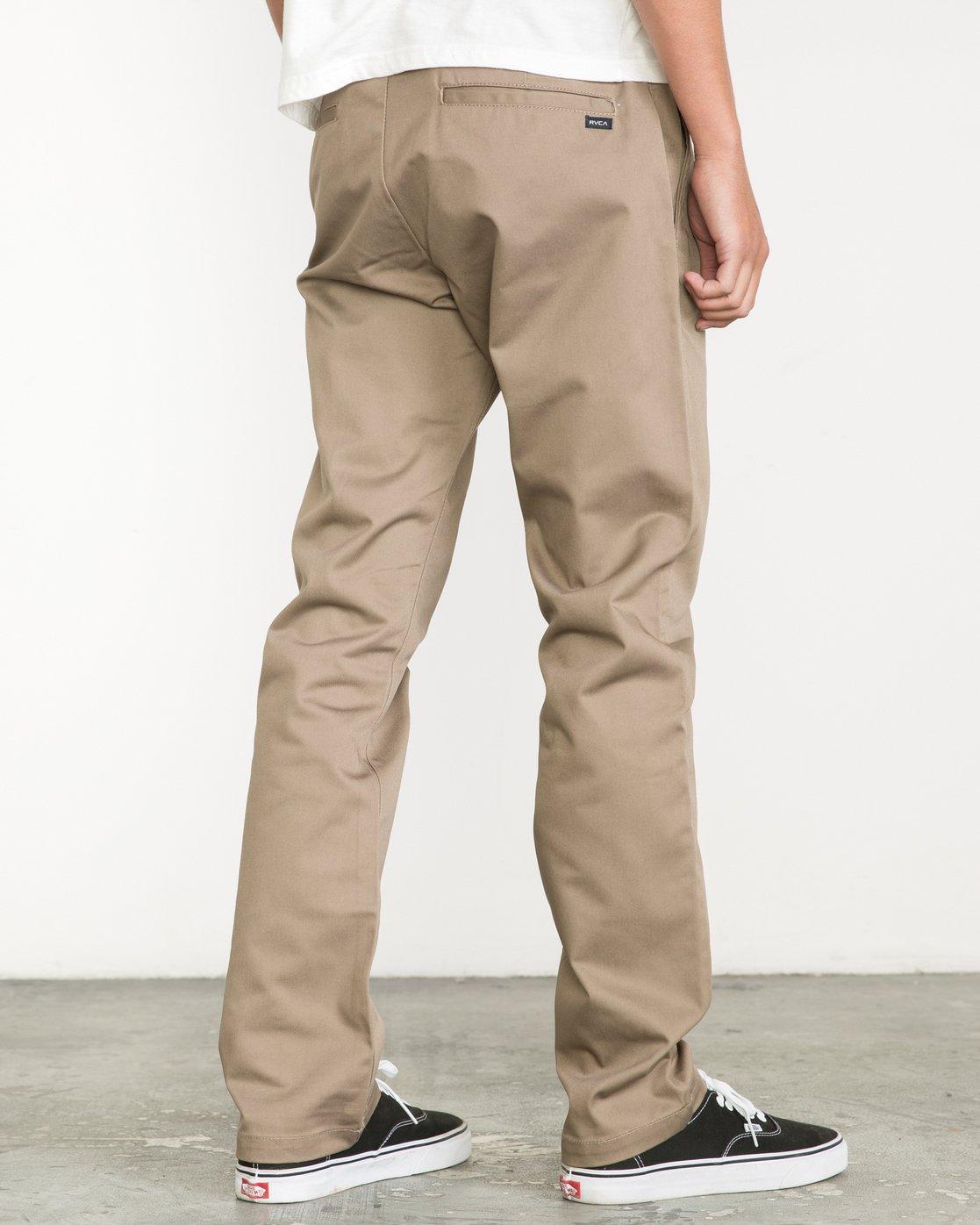 3 Week-End Pants Green M3307WEP RVCA