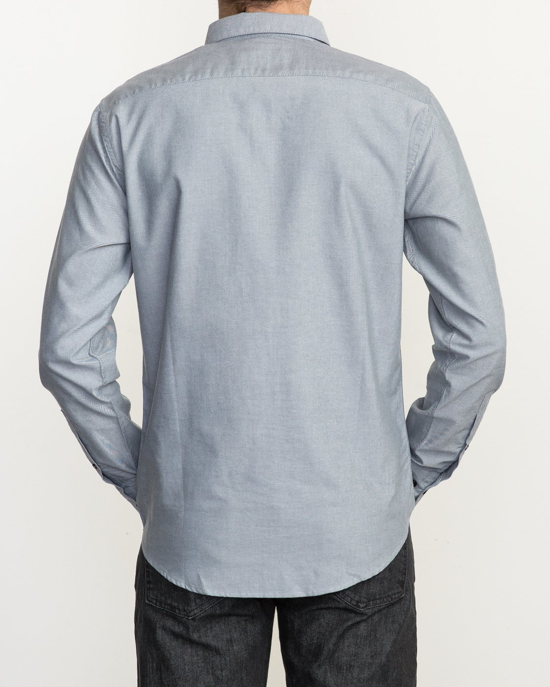 4 That'll Do Oxford Long Sleeve Shirt Multicolor M3515TDL RVCA