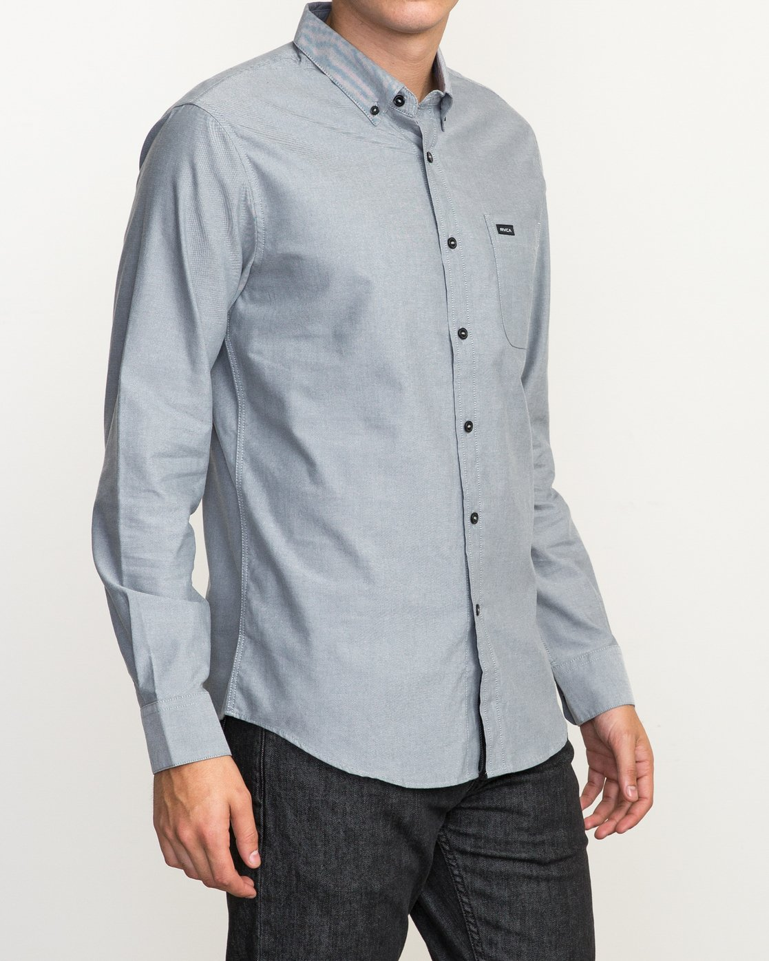 3 That'll Do Oxford Long Sleeve Shirt Multicolor M3515TDL RVCA