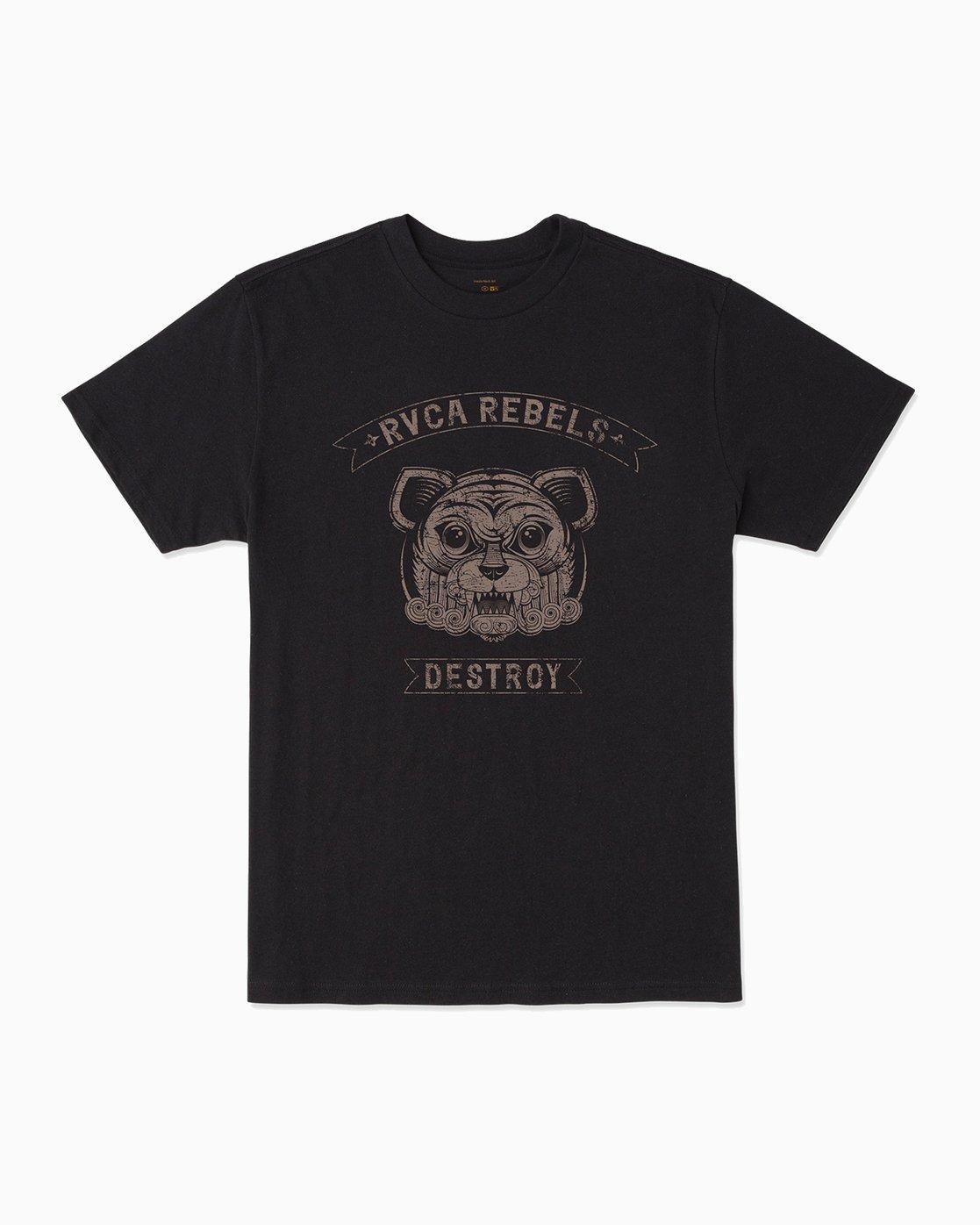 0 George Thompson RVCA Rebels T-Shirt  M401301R RVCA