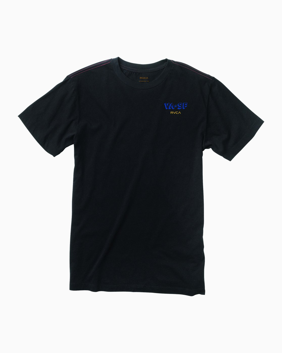1 SF Block T-Shirt Black M401MRBE RVCA
